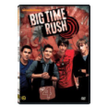 Big Time Rush - 1. évad 4. lemez DVD