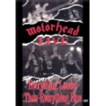 Motörhead Live - Everything Louder Than Everything Else DVD