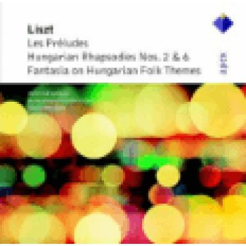 Les Preludes Hungarian Rhapsodies Nos. 2-6, Fantasia on Hungarian Folk Themes CD