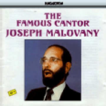 The Famous Cantor Joseph Malovany CD