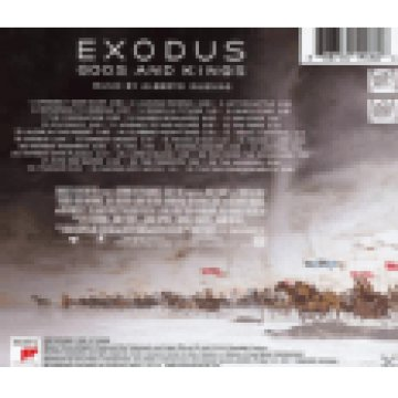 Exodus - Gods And Kings (Original Motion Picture Soundtrack) (Exodus - Istenek és királyok) CD