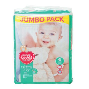 Tesco Loves Baby Jumbo Pack pelenka