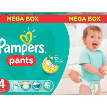 Pampers Pants bugyipelenka Mega Box