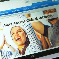 Alcor Access Q882M tablet teszt