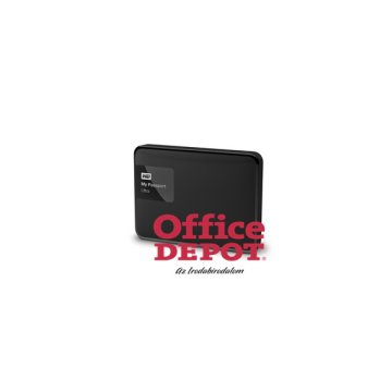 "Western Digital 2,5"" 2000GB külső USB3.0 fekete My Passport Ultra Classic Black winchester"