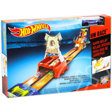 Hot Wheels Race: Rapid Relay versenypálya