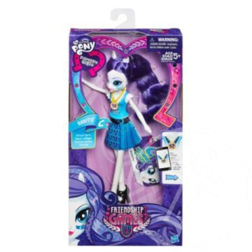 Én kicsi pónim - Equestria Girls Friendship Games: Wondercolts Rarity baba - Hasbro
