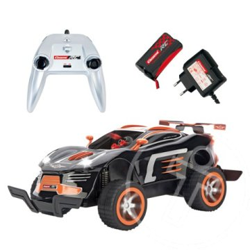 Carrera RC Agent Black Pursuit távirányítós autó kilövővel 2.4GHz 1/16