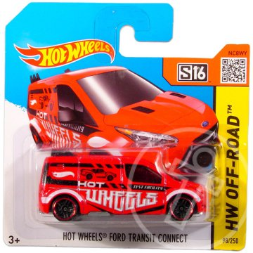 Hot Wheels Off-Road: Ford Transit Connect kisautó