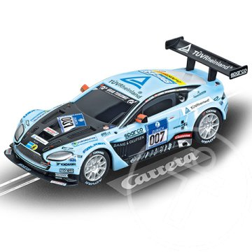 "Carrera Go!: Aston Martin V12 Vantage GT3 ""Young Driver, No.007"" 1/43-as pályaautó"