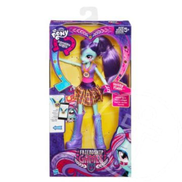 Én kicsi pónim - Equestria Girls Friendship Games: Shadowbolts Sunny Flare baba - Hasbro