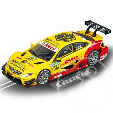 "Carrera Evolution: AMG-MERCEDES C-COUPE DTM ""D.COULTHARD, NO.19"" 1/32 pályaautó"