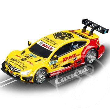 "Carrera Go!: AMG-Mercedes C-Coupe DTM ""D.Coulthard, No.19"" 1/43-as pályaautó"