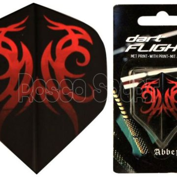 Abbey darts toll, fekete