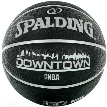Spalding NBA Downtown Black outdoor kosárlabda
