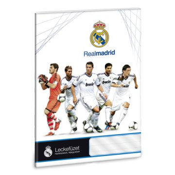 Real Madrid A/5 leckefüzet