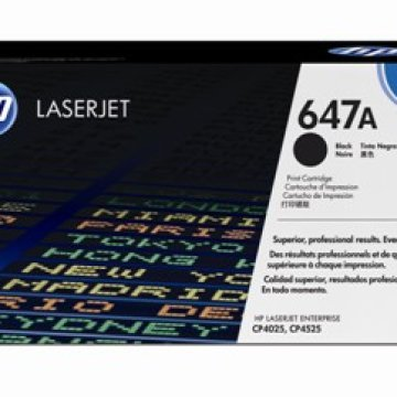 HP CE260A toner, fekete