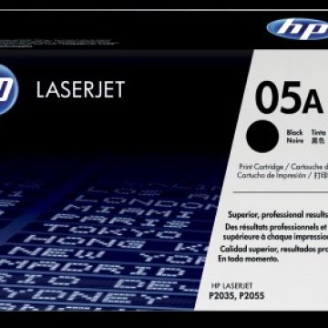 HP CE505A toner, fekete