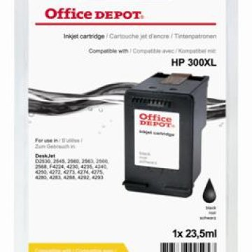 Office Depot HP CC641EE/300XL kompatibilis patron, fekete