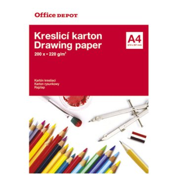 Office Depot rajzlap
