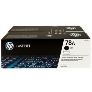 HP CE278AD/78A toner dupla, fekete