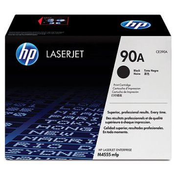 HP CE390A/90A toner, fekete