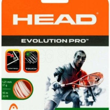 Head Evolution Pro squash húr, 12 m