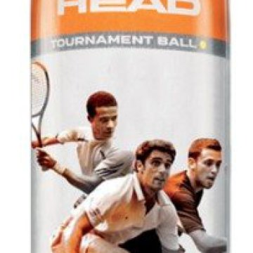 Head Tournament squash labda, 3 db