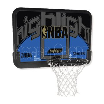 Spalding NBA Highlight Blue kosárpalánk