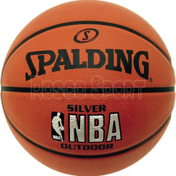 Spalding NBA Silver Youth outdoor kosárlabda, 5