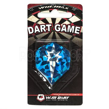 Spokey 2D darts toll, kék