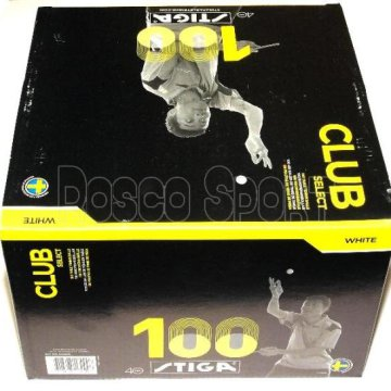 Stiga Club Select ping-pong labda, 100 db
