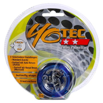 Yotech Triple Switch Yoyo, kék
