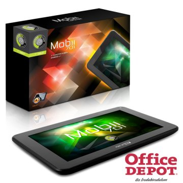 "Point of View Mobii 701 7"" Wi-Fi 4GB (fekete) tablet"