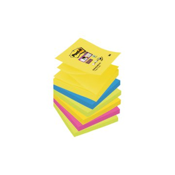 Post-it Super Sticky Z-tömb 76x76 mm 6 db/csomag