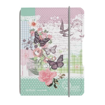 Herlitz my.book Ladylike Butterfly notesz A6 40lap koc