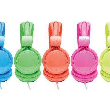 COLOUR YOUR WORLD Urbanz neon fejhallgató (2) ár, vásárlás