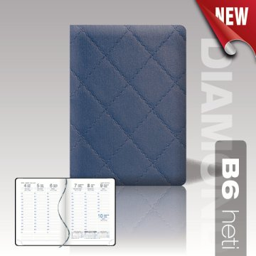 Agenda Diamond B6 heti