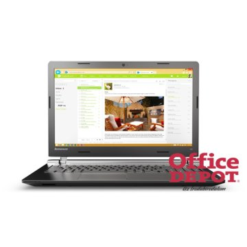 "LENOVO 100 80QQ004EHV 15,6""/Intel Core i5-5200U/4GB/500GB/DVD író/fekete notebook"