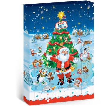 adventi naptár vásárlás Kinder Mini Mix adventi kalendárium   ár, vásárlás, rendelés  adventi naptár vásárlás