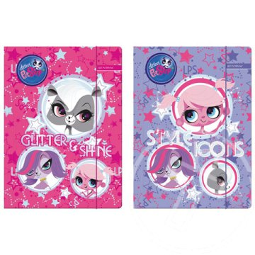 Littlest Pet Shop gumis mappa A/4