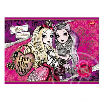 Ever After High rajztömb A/4-es méret 20 lapos