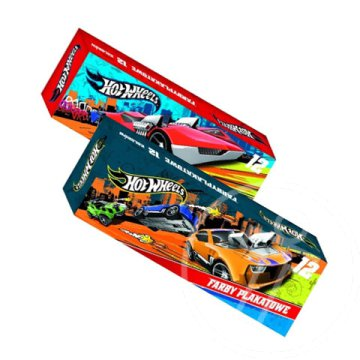 Hot Wheels folyékony tempera 12x20ml