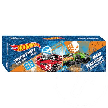 Hot Wheels 12 db-os tempera