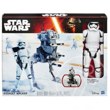 Star Wars Episode7 Hero Series Assault Walker akciófigura - Hasbro