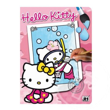 Hello Kitty nyaral varázskifestő - Jiri Models