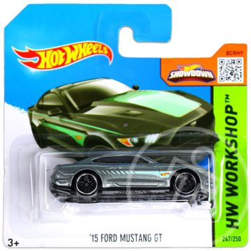 Hot Wheels Workshop: 15 Ford Mustang GT 2 kisautó
