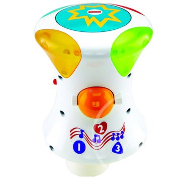 Fisher-Price Bright Beats 2 az 1-ben guriga dob