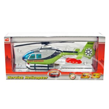 Műanyag helikopter - City Express 23 cm