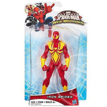 Pókember Web Warriors: Iron Spider figura - Hasbro